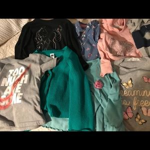 Lot of size 4T girl clothes